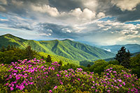 great smoky mountains landscape
