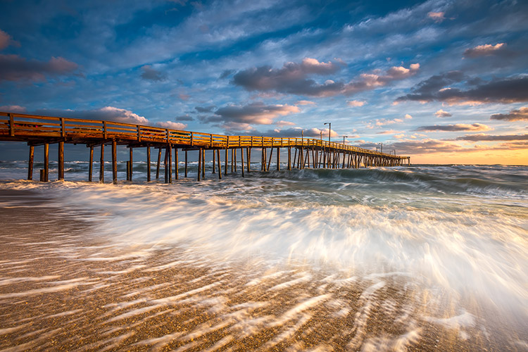 OBX NC Coastal Seascape Landscape Photography Prints