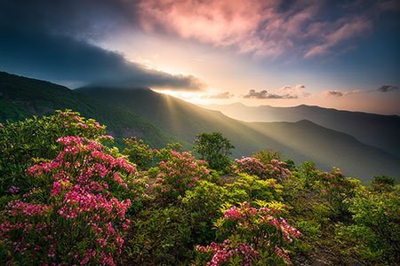 NC Blue Ridge Parkway Landscape Photography Prints