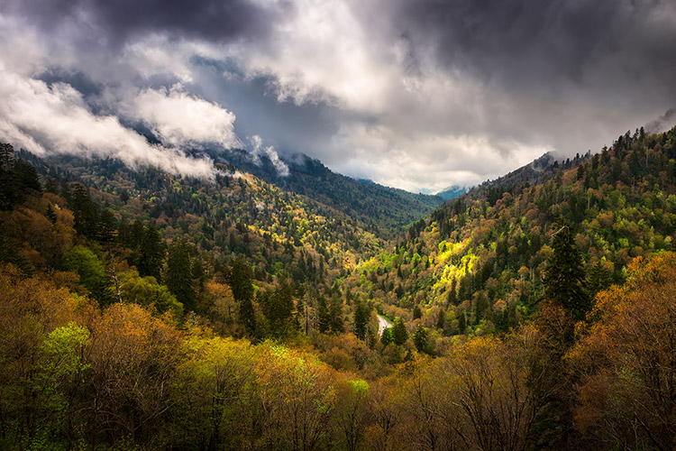 Gatlinburg TN Smoky Mountains Landscape Photography