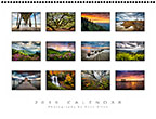 Blue Ridge Landscapes Calendar