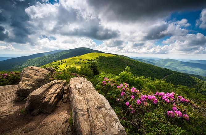 Fine Art Landscape Photography - Blue Ridge Mountains